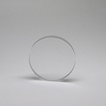 Sapphire Optical Window - Ø34.9mm x 6.35mm Thick, Uncoated