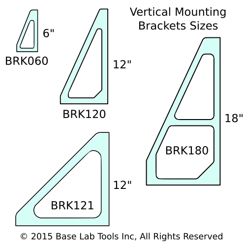 vertical bracket selection guide