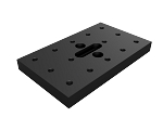 3 in x 5 in x 1/2 in Mounting Plate