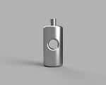 Ø1/2 in Stainless Steel Post - 1 in Long