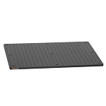 450mm x 600mm x 13mm Solid Aluminum Optical Breadboard