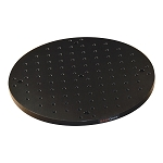 Ø300mm x 13mm Circular Solid Aluminum Optical Breadboard