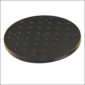 DIA 8 in Round Solid Aluminum Optical Breadboard