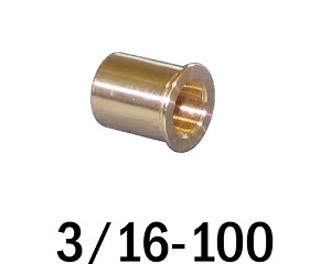 "3/16""-100 Bushing - 0.31 in (5/16 in) Long"