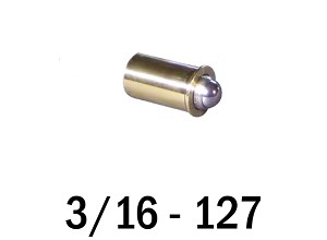 "3/16""-127 Fine Adjustment Matched Pair - 0.63 in (5/8 in) Long"
