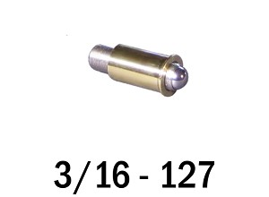 "3/16""-127 Fine Adjustment Matched Pair - 0.75 in (3/4 in) Long"