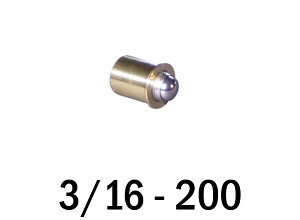 "3/16""-200 Fine Adjustment Matched Pair - 0.38 in (3/8 in) Long"