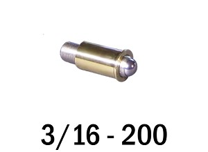 "3/16""-200 Fine Adjustment Matched Pair - 0.75 in (3/4 in) Long"