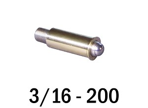 "3/16""-200 Fine Adjustment Matched Pair - 1.00 in (1 in) Long"