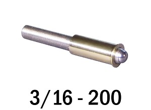 "3/16""-200 Fine Adjustment Matched Pair - 1.50 in (1 1/2 in) Long"
