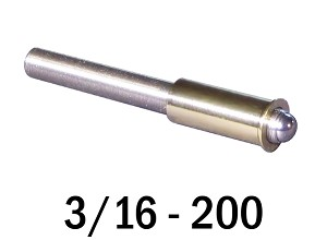 "3/16""-200 Fine Adjustment Matched Pair - 1.75 in (1 3/4 in) Long"