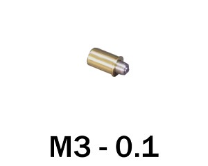 M3-0.10 Ultra Fine Adjustment Matched Pair - 8 mm Long