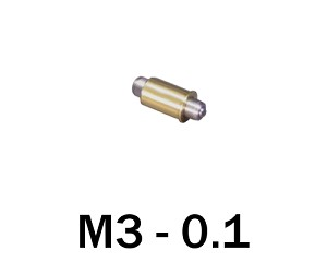 M3-0.10 Ultra Fine Adjustment Matched Pair - 12 mm Long