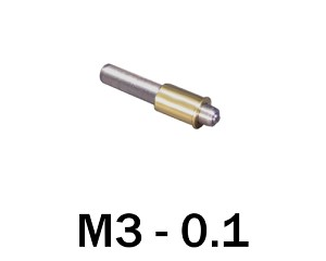 M3-0.10 Ultra Fine Adjustment Matched Pair - 20 mm Long