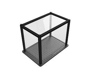 9in x 15in x 12in  Enclosure - Plexiglas Sides (for SAB1218)