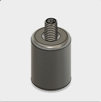 Ø12.7mm Stainless Steel Post - 18 mm Long