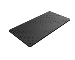 300mm x 600mm x 13mm Solid Aluminum Optical Breadboard