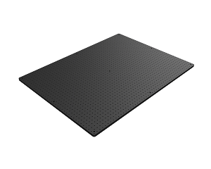 36 in x 48 in x 3/4 in Thick Solid Aluminum Optical Breadboard