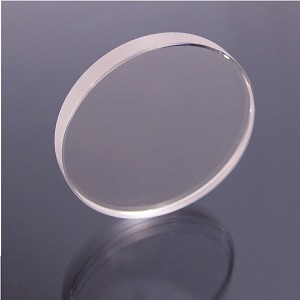 "Sapphire Optical Window - Ø1"" (Ø25.4mm), 3.0mm Thick, Uncoated"