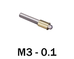 M3-0.10 Ultra Fine Adjustment Matched Pair - 25 mm Long