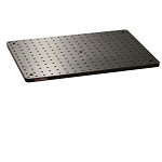 300mm x 450mm x 13mm Solid Aluminum Breadboard, Metric