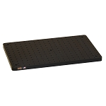 12 in x 18 in x 3/4 in Thick Solid Aluminum Optical Breadboard