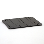 8 in x 10 in x 1/4 in Solid Aluminum Optical Breadboard