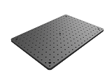 12 in x 18 in Solid Aluminum Optical Breadboard