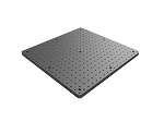 18 in x 18 in x 3/4 in Thick Solid Aluminum Optical Breadboard