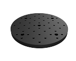Ø200mm x 13mm Circular Solid Aluminum Optical Breadboard