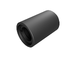 Ø1/2in Lens Tube - Internal Thread 1.0in Long