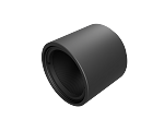 Ø1in Lens Tube Threaded 1.035-40 - 1.0in Long