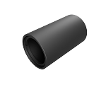 Ø1in Lens Tube Threaded 1.035-40 - 2.0in Long