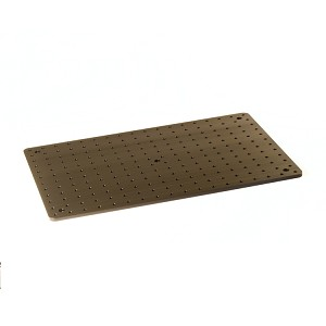 300mm x 450mm x 7mm Solid Aluminum Optical Breadboard