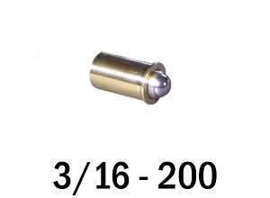 "3/16""-200 Fine Adjustment Matched Pair - 0.63 in (5/8 in) Long"