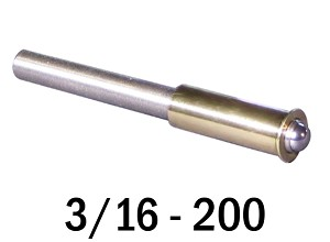 "3/16""-200 Fine Adjustment Matched Pair - 2.00 in (2 in) Long"