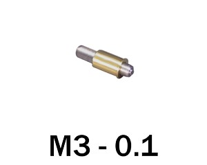 M3-0.10 Ultra Fine Adjustment Matched Pair - 15 mm Long