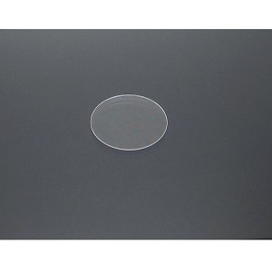 "Sapphire Optical Window - Ø22.2mm (7/8"")x 0.50mm Thick, Uncoated"