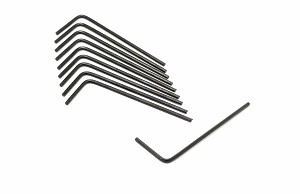 0.050in Hex Key for 4-40 Setscrews- Pack of 10