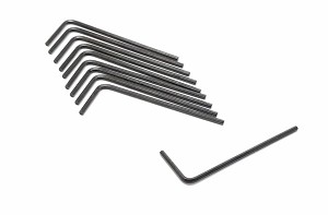 1/16in Hex Key for 6-32 Setscrews- Pack of 10
