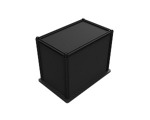 9in x 15in x 12in  Enclosure - Black Hardboard Sides (for SAB1218)