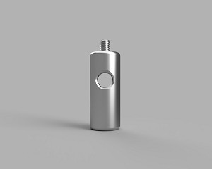 Ø1/2 in Stainless Steel Post - 1.25 in Long