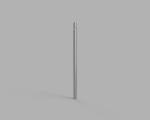 Ø1/2 in Stainless Steel Post - 12 in Long