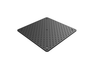 300mm x 300mm x 7mm Double Density Solid Aluminum Breadboard