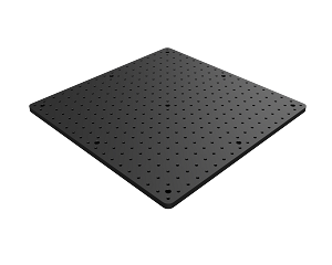 450mm x 450mm x 13mm Solid Aluminum Optical Breadboard