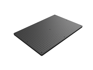 24 in x 36 in x 1 in Thick Solid Aluminum Optical Breadboard