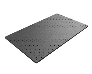 18 in x 30 in Solid Aluminum Optical Breadboard